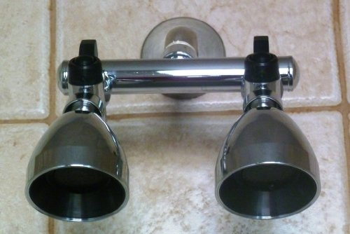 Siroflex Dual Shower Heads
