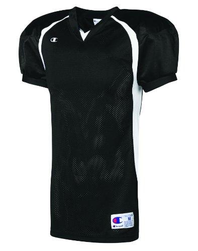 Challenger Colorblock Football Game Jersey Black/White DHSzavmW