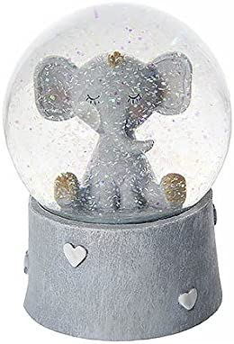 Mousehouse Gifts Cute Elephant Snow Globe Music Box Kids Boys Girls
