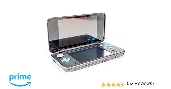 Orzly Funda New 2DS XL, InvisiCase Nueva 2DS XL (Modelo 2017) – Carcasa Protectora 100% Transparente para la Nueva (Versión Plegable) Nintendo 2DSXL