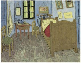 Vincent van Gogh Bedroom at Arles Art Print Poster