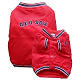 Sporty K9 Boston Red Sox Dugout Dog Jacket, Small, My Pet Supplies