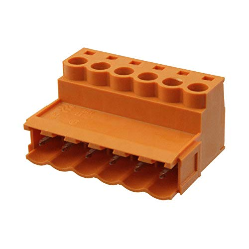 TERM BLOCK PLUG 6POS STR 5.08MM (Pack of 5)