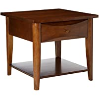 Coaster Home Furnishings 700957 Casual End Table, Walnut