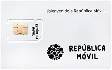 Tarjeta SIM de PREPAGO de República Móvil -3 en 1-10 Llamadas Nacionales: Amazon.es: Electrónica