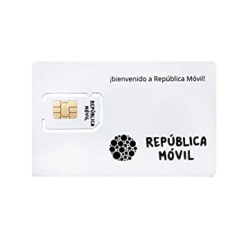 Tarjeta SIM de PREPAGO de República Móvil -3 en 1-10 ...
