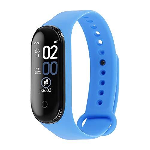 Jiudong M4 Smart Band Fitness Tracker Met Ips Kleur Scherm 0.96 Waterdichte Activiteit Horloge Met Hartslag Bloeddruk…