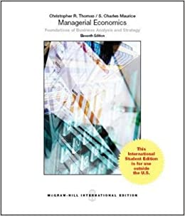 Managerial economics christopher r thomas s charles maurice managerial economics christopher r thomas s charles maurice 9781259071515 amazon books fandeluxe Choice Image
