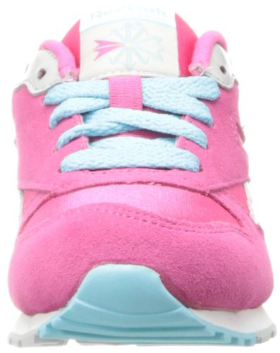 Reebok GL 2620 Blue Youths Trainers Pink Fusion/White/Blue/Steel