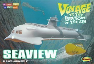 Voyage To The Bottom Of The Sea Seaview Submarine 39 Inch Long Model Kit 707 By Moebius Models 1 128 By Moebius