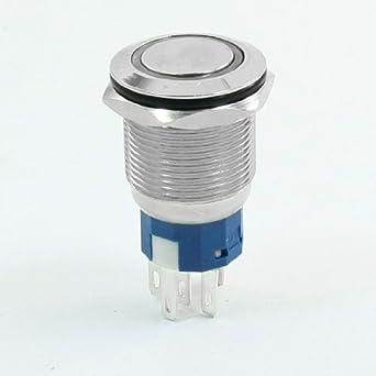 Interruptor pulsador eDealMax: Amazon.com: Industrial ...