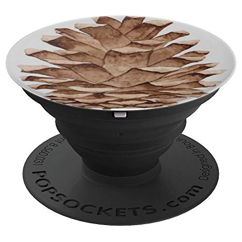 - Pine-cone Pine Tree Forest Love Art Picture Gift - PopSockets Grip and Stand for Phones and Tablets