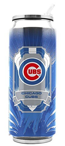 - Duck House MLB Chicago Cubs SS Thermocan Sports Fan Kitchen Products, Large/16.9 oz, Multicolor