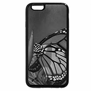 iPhone 6S Plus Case, iPhone 6 Plus Case (Black & White) - Wings with feminity