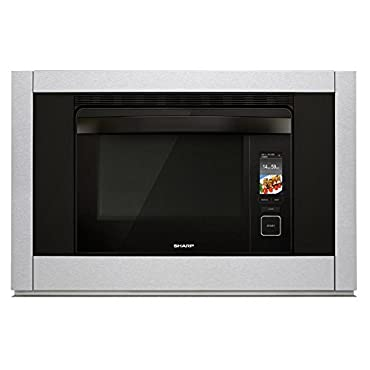 Sharp SSC3088AS 30 SuperHeated Steam Plus Oven with 1.1 Cu. Ft. Capacity Gentle Steam Convection Bake Convection Broil Smart and Easy Controls Smart Cook and Keep Warm Mode in Stainless