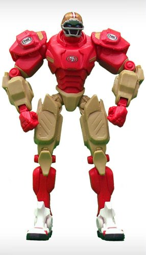 NFL San Francisco 49ers Fox Sports Team Robot, 10-inches