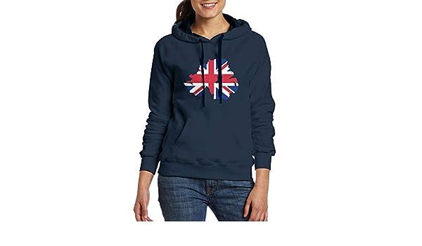 FJKL KLJF Jamaican American Flag Womens Long Sleeve Sweatshirt Blouse Hooded Pullover Shirt