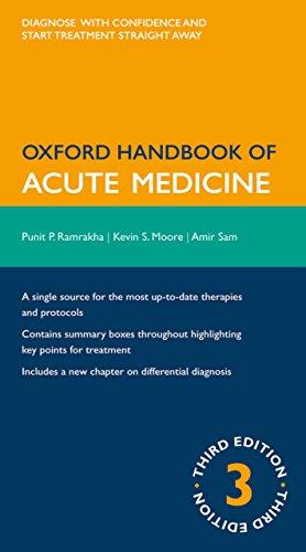 Download Oxford Handbook of Acute Medicine (Oxford Medical Handbooks) Pdf