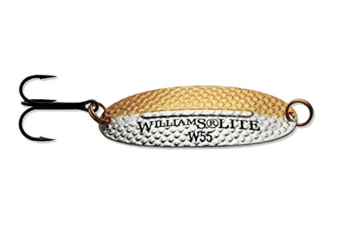 Williams Wabler Lite Fishing Lure W55 -Silver & Gold - W55HN - 2-5/8