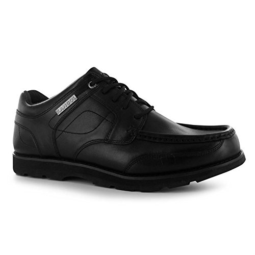 Eyelets Harrow Stitched Kangol Lace up Mens Leather Black Detail Sole Shoes Moulded tqw6pT