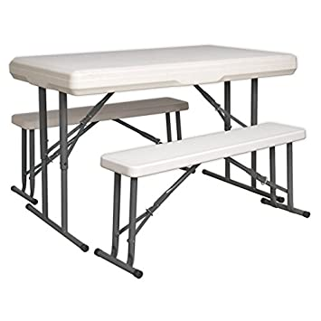 Sealey GL87 - Set portátil de mesa y banco plegable: Amazon.es ...