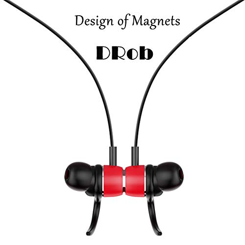 DRob Wireless Bluetooth Headphones Wireless SoundBuds Bluetooth 4.2 High Sports Earphones, Workout Earbuds,Noise Cancellation, Carry Pouch Ergonomic Running Earphones by DRob (Image #1)