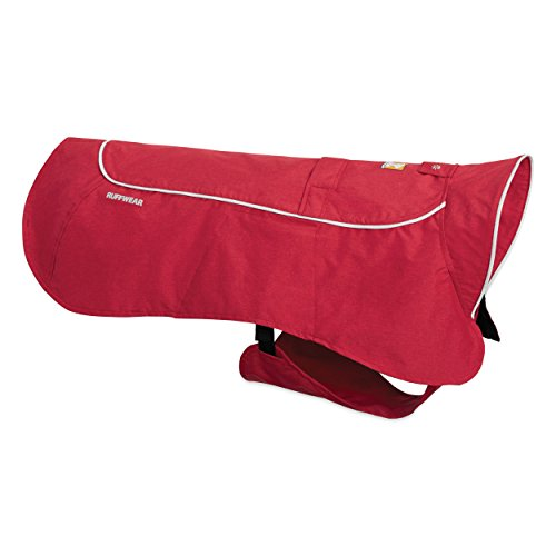 Ruffwear - Aira Full Coverage, Waterproof, Breathable Rain Jacket for Dogs, Red Rock, X-Large Waterproof Storm Dog Jackets