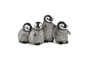Schleich 14618  -  Figura/ miniatura La vida silvestre, polluelos de pingüino rey