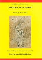 Book of Alexander (libro De Alexandre)…
