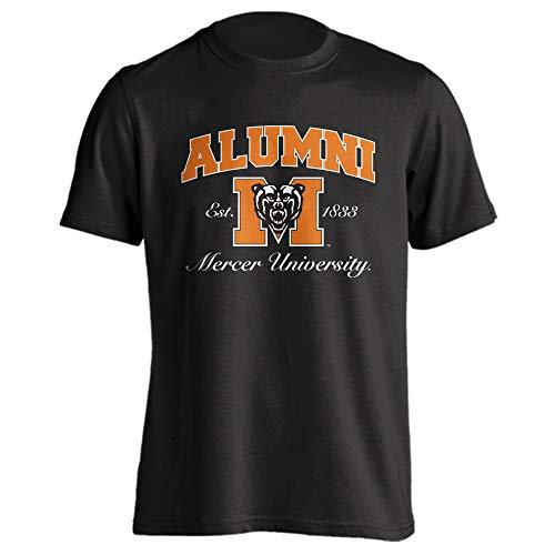 (Sport Your Gear Mercer Bears Alumni Classic Arch T-Shirt (Black, S))