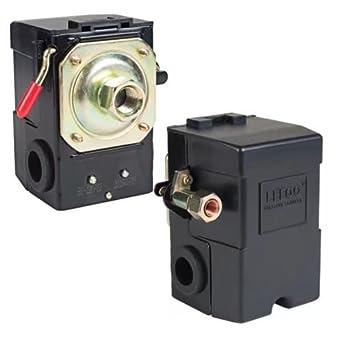 Paddsun Pressure Switch for Air Compressor 90-125 psi