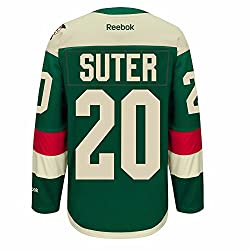 Ryan Suter Minnesota Wild Nhl Reebok Green Official 2016 Stadium Series Premier Jersey For Men (S)