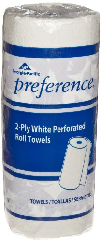 Pacific Blue Select (Previously Branded Preference) 27300 White 2-ply Perforated Paper Towel Roll by GP PRO, (WxL) 11.000