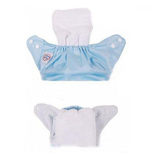 Befaith Nuevos pañales de pañales reutilizables Insertar 2 capas Modern Baby Cotton Cloth Diaper