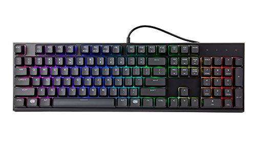 Cooler Master MasterSet MS121 Gaming RGB Keyboard & Mouse, C