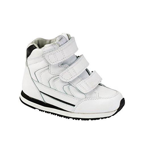 Piedro Kinder Orthopädische Schuh–weiß–Leder–Spitze–Breite–�?–Größe–�?1