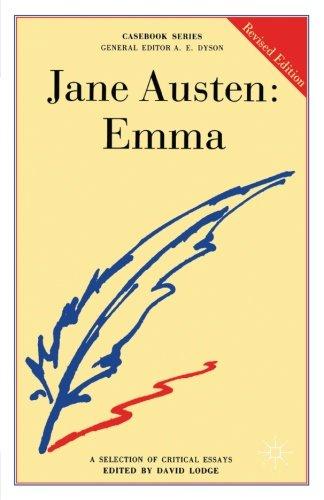 Jane Austen: Emma (Casebooks Series)