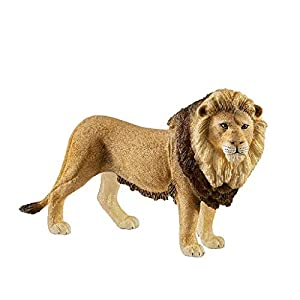 SCHLEICH Wild Life, Animal Figurine, Animal Toys for Boys and Girls 3-8 Years Old, Lion