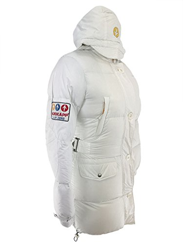 Nordkapp Women Long Down Jacket White L