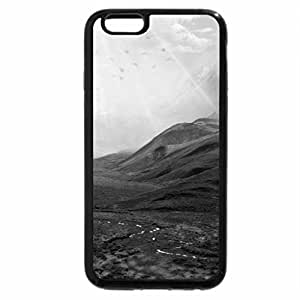 iPhone 6S Case, iPhone 6 Case (Black & White) - Gravitational Force of Nature