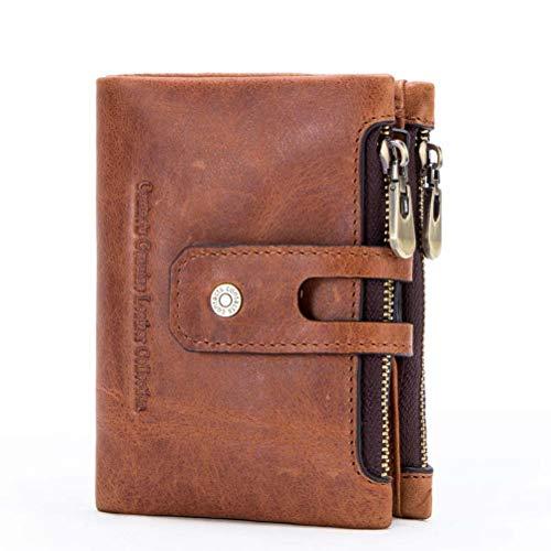 Anti Nouveau Pour Mode magnétique Paquet Cartes Niceamz monnaie Homme Identification De fold radio Portefeuille En Sac Tri Cuir Boucle Anti Porte Fréquence YAwqEZ