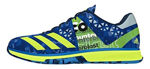 adidas Counterblast Falcon, Zapatillas de Balonmano para Hombre Azul (Azuimp / Amasol / Azuhie)