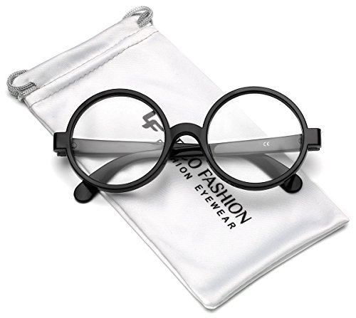 Nerd Glasses Cheap (Round School Boy Clear Lens Glasses)
