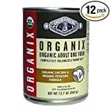 Organix Organic Chicken and Potatoes Canned Canine Formula Dog Food, 12.7-Ounce Cans (Pack of 12) ( Value Bulk Multi-pack), My Pet Supplies
