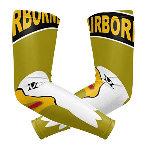 U.S. Army 101st Airborne Logo Outdoor Travel Arm Warmer Long Sleeves Glove
