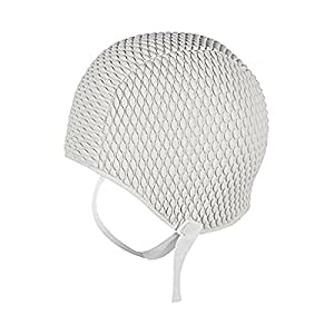 Amazon Com Retro Swim Cap Bathing Cap With Chin Strap