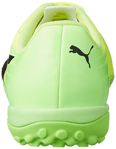 Puma Evospeed 17.4 TT, Botas de Fútbol Para Hombre, Amarillo (Safety Yellow Black-Green Gecko 01), 44 EU