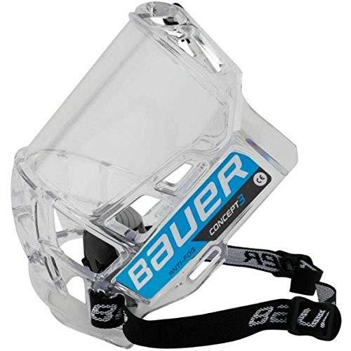 Bauer Concept 3 Full Visor; - Shield Itech
