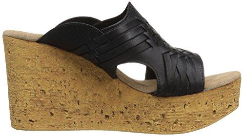 Sandalo Con Zeppa Donna Sbicca Con Zeppa Nera
