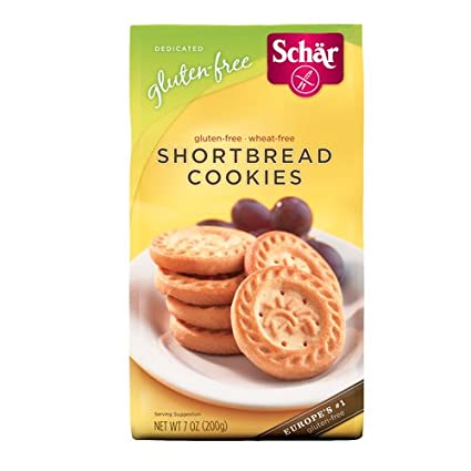 Schar sin gluten Galletas – 7 oz (Pack de 12): Amazon.com ...